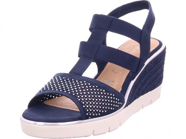 Tamaris Da.-Sandalette Damen Sandale Sandalette Sommerschuhe blau 1-1-28370-22/805-805