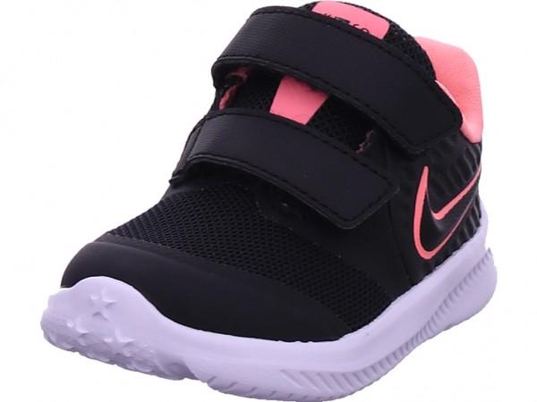 Nike Nike Star Runner 2 Infant/Todd Mädchen Sneaker schwarz AT1803