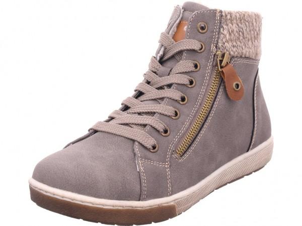 firence Damen Winter Stiefel Boots Stiefelette warm Schnürer grau 7928402