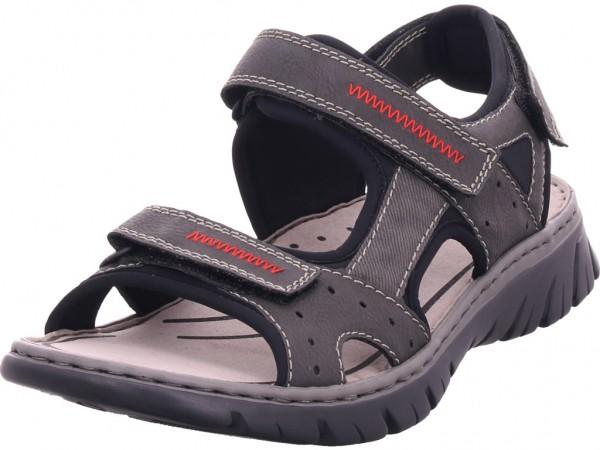 Rieker Herren Sandale Sandalette Sommerschuhe grau 26757-45