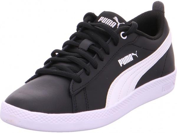 Puma Puma Smash Wns v2 L Damen Halbschuh Sneaker Sport Schnürer zum schnüren schwarz 365208/002