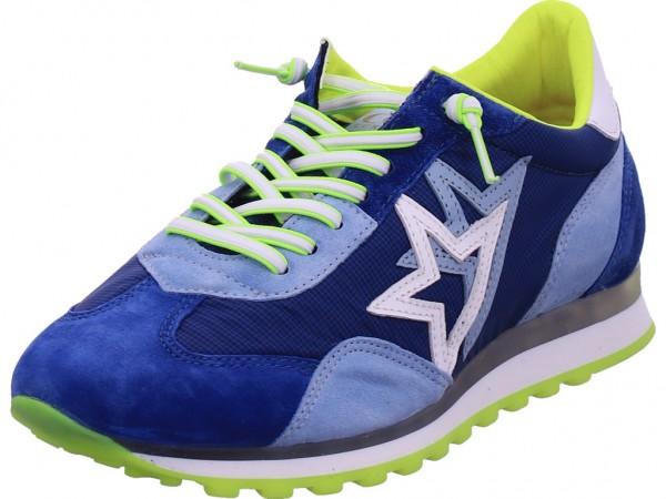 Cetti Herren Schnürschuh Halbschuh sportlich Sneaker blau C1252