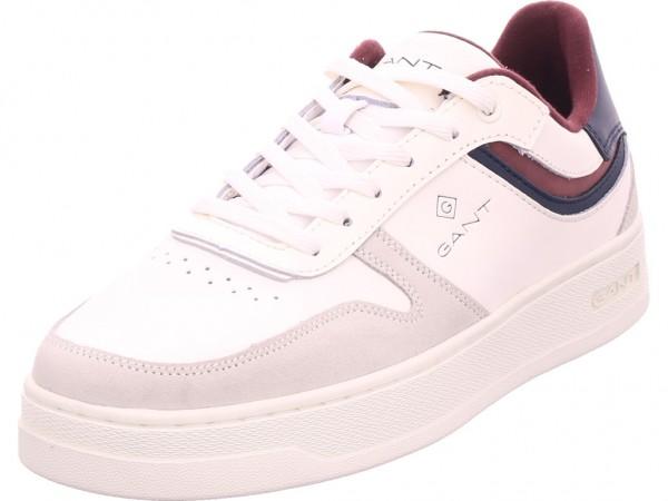 Gant Detroit Low Herren Schnürschuh Halbschuh sportlich Sneaker weiß 19631885