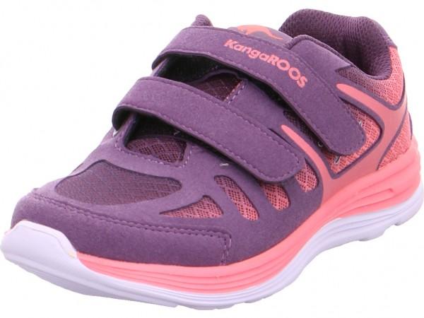 Bild 1 - KangaRoos Training Kinder Mädchen Sneaker blau 1571A/605