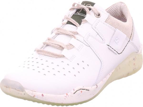 Seibel Ricky18 Damen Halbschuh Sneaker Sport Schnürer zum schnüren weiß 69418