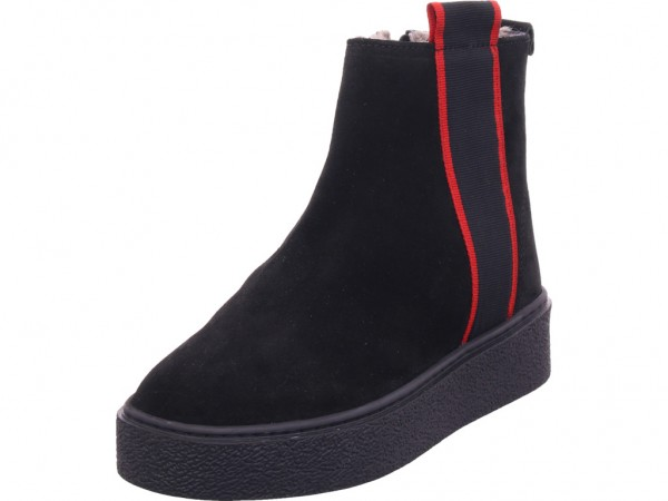 Vista Damen Winter Stiefel Boots Stiefelette warm zum schlüpfen schwarz 62-66901