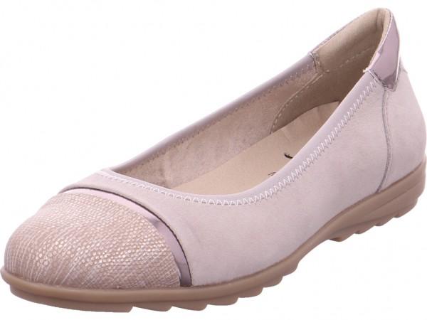 Jana Da.-Ballerina Pumps flach Ballerina grau 8-8-22104-20/204-204