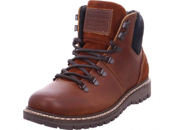 Mustang Herren Stiefel Schnürstiefel warm sportlich Boots braun 4903504301