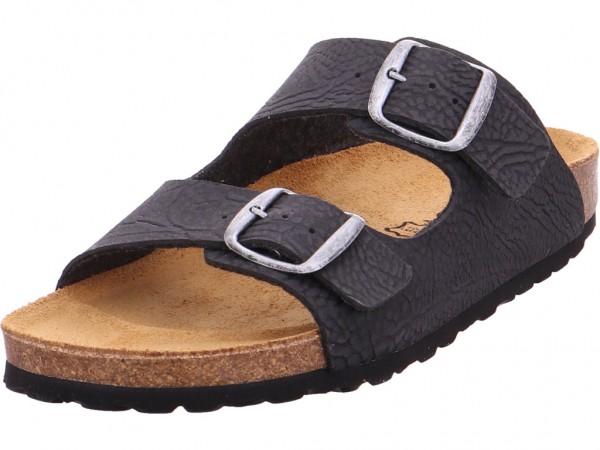 BOLD Pantolette Sandalen Hausschuhe schwarz 0014-39