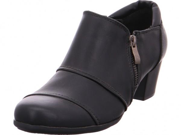 Quick-Schuh ab 25mm bis 50mm - glatter Bod Damen Pumps elegant Abendschuhe Party Ball schwarz 18009510-Black