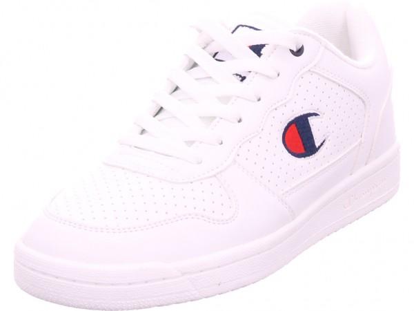 Champion Chicago Low Herren Schnürschuh Halbschuh sportlich Sneaker weiß S20880