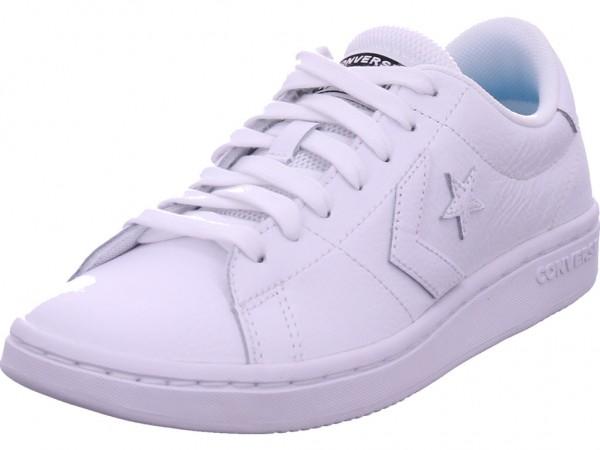 Converse Damen Halbschuh Sneaker Sport Schnürer zum schnüren weiß 168786C