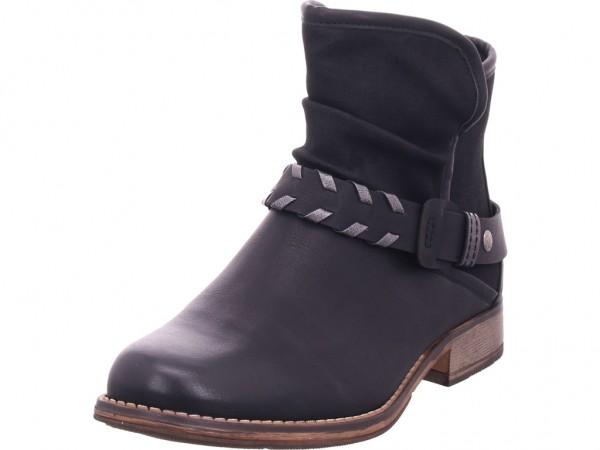 Rieker 9777000 977 Damen Stiefel Stiefelette Boots elegant schwarz 97770-00