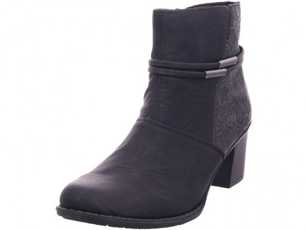 Rieker Damen Stiefel Stiefelette Boots elegant schwarz Z7684-00