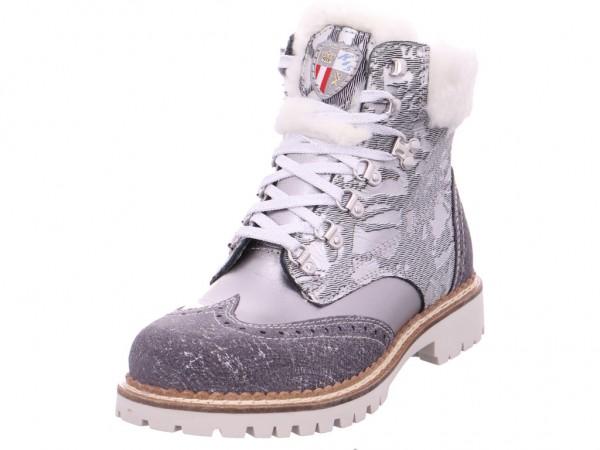New Italia Shoes Damen Stiefelette grau 1715416/11