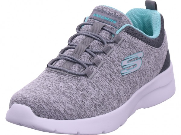 SKECHERS Dynamight 2.0 Damen Slipper grau 12965 GYMN