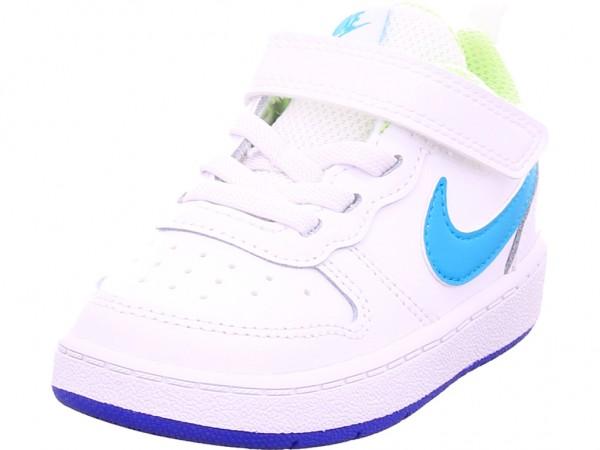 Nike Court Borough Low 2 Jungen Sneaker weiß BQ5453