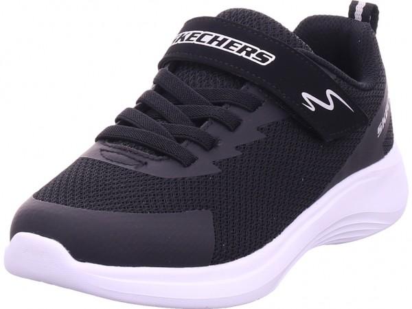 SKECHERS Jungen Sneaker schwarz 403764L/BLK