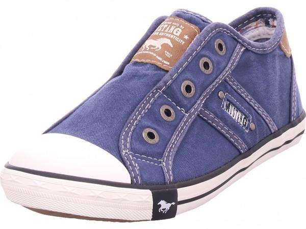 Mustang Damen Sneaker blau 1099401-841