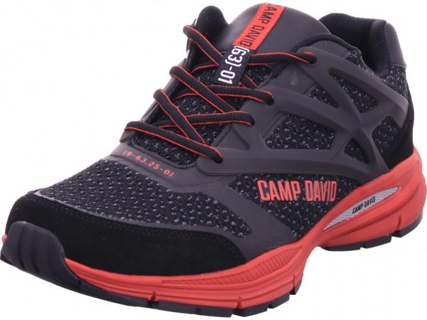 Camp David Jackets CAD Blue Herren Schnürschuh Halbschuh sportlich Sneaker schwarz CCU-2055-8553