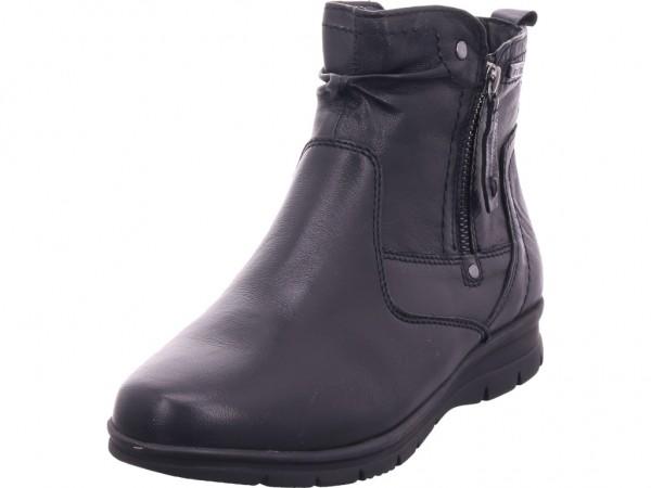 Jana Woms Boots Damen Winter Stiefel Boots Stiefelette warm zum schlüpfen schwarz 8-8-26428-23/001-001