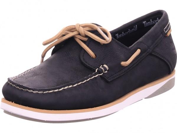 timberland Atlantis Break Boat Shoe Damen Schnürschuh Halbschuh sportlich Sneaker schwarz TB0A2AC70151