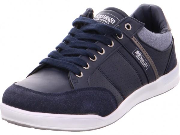 Montega Schnürhalbs.Sp-Boden Schnürschuh Halbschuh sportlich Sneaker blau 1004261/8