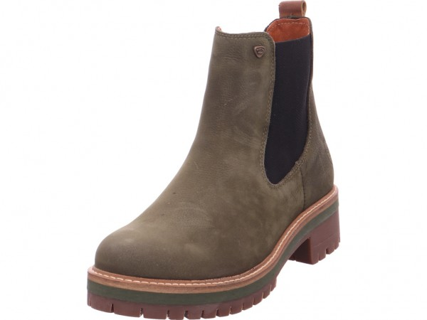 Imago Chelsea Boots Damen Stiefelette grün 264588000/724