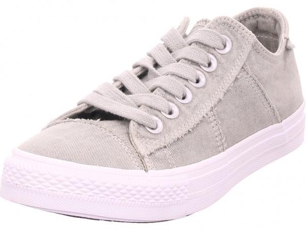 Jane Klain Damen Leinen Sneaker Halbschuh grau 832651000/225