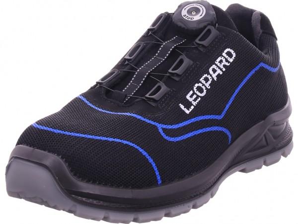 Leopard Herren Arbeitsschuhe Sicherheitsschuhe schwarz AE1671