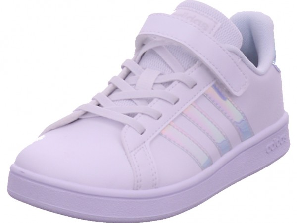 Adidas Grand court Mädchen Sneaker weiß FW1275