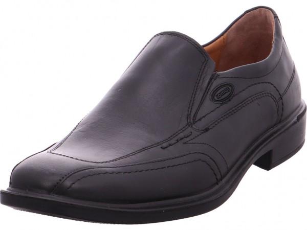 Jomos Herren Slipper Halbschuh elegant business schwarz 206206