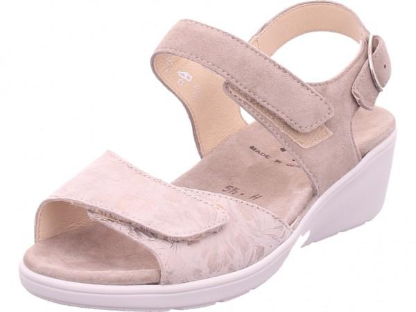 Semler Damen Sandale Sandalette Sommerschuhe beige R-9045-868