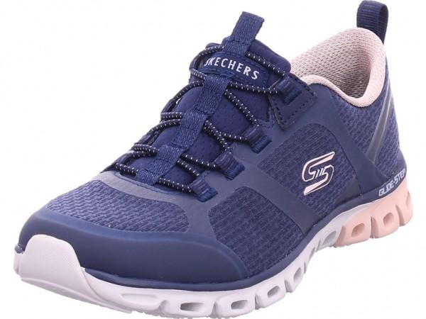 SKECHERS GLIDE-STEP - Damen Sneaker blau 104195 NVPK
