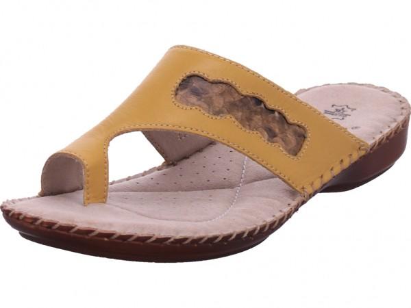 Jana Damen Pantolette Sandalen Hausschuhe Clogs Slipper gelb 8-8-27108-24/627-627
