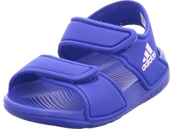 Adidas Altaswim Unisex - Kinder Sandale Sandalette Sommerschuhe blau EG2138
