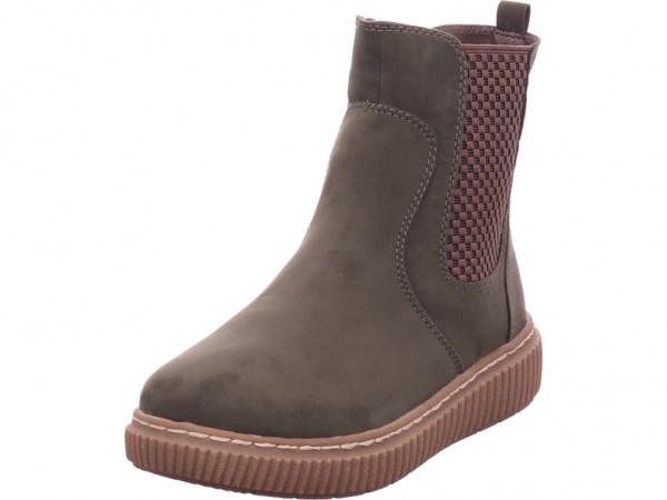 Jana Damen Stiefel Stiefelette Boots elegant grün 8-25461-27 707