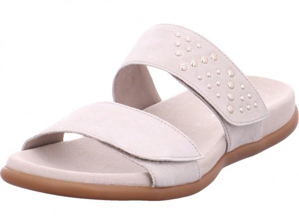 Gabor Damen Pantolette Sandalen Hausschuhe Clogs Slipper beige 83.701.61