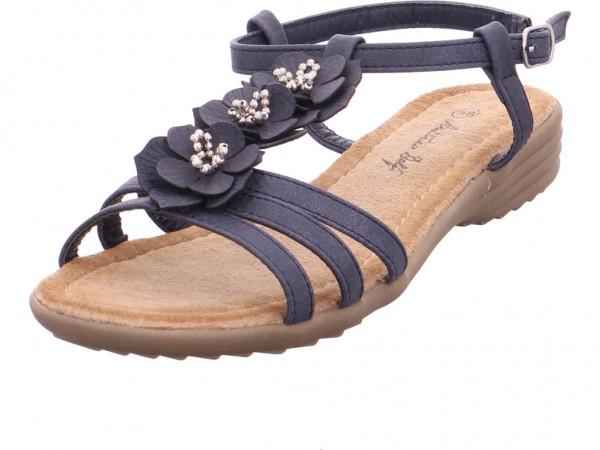 hengst Ladies Comfort Shoes Navy 40 Damen Sandale Sandalette Sommerschuhe blau 227042