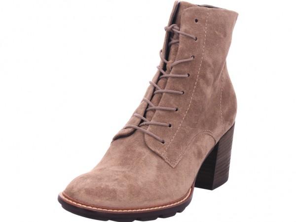 paul green 0067-9767-017 Damen Stiefel Schnürer Boots Stiefelette zum schnüren beige 9767-017