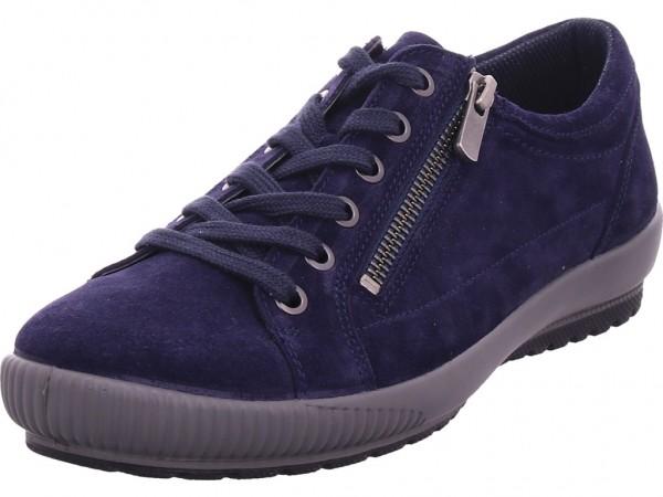 Legero Halbschuh Leder \ TANARO 4.0 Damen Halbschuh Sneaker Sport Schnürer zum schnüren blau 2-000818-8300