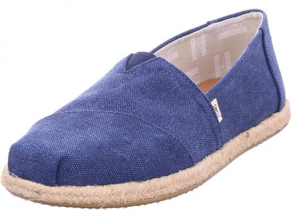 TOMS Damen Slipper blau 10009758