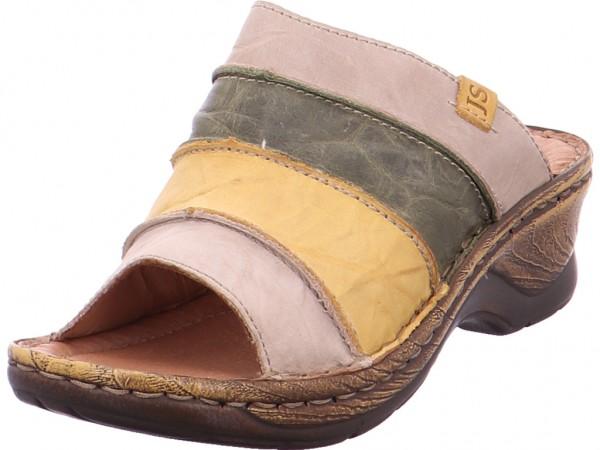 Seibel CATALONIA 64 Damen Pantolette Sandalen Hausschuhe gelb 5653095/232