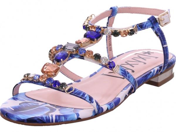 xyxyx Damen Sandale Sandalette Sommerschuhe blau 065108