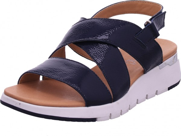 Caprice Damen Sandale Sandalette Sommerschuhe blau 9-9-28700-24/815-815