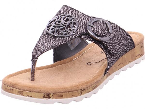 Bild 1 - hengst Ladies Comfort Shoes Gun Metal Damen schwarz