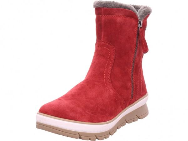 Jana Woms Boots Damen Winter Stiefel Boots Stiefelette warm zum schlüpfen rot 8-8-26440-23/533-533