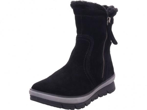 Jana Woms Boots Damen Winter Stiefel Boots Stiefelette warm zum schlüpfen schwarz 8-8-26440-23/001-001