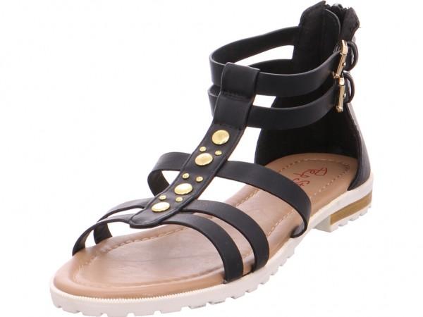 Pep Step 9620002,black Damen Sandale Sandalette Sommerschuhe schwarz 9620002/00001