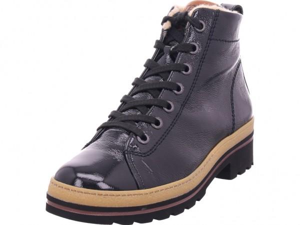 paul green 0065-9550-035 Damen Winter Stiefel Boots Stiefelette warm Schnürer schwarz 9550-035